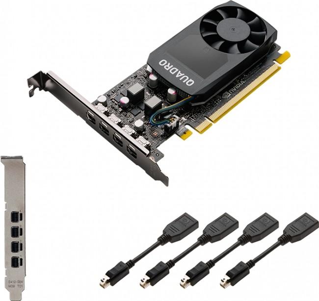 PNY Quadro P620 2GB 4xDP v2 - zdjęcie główne