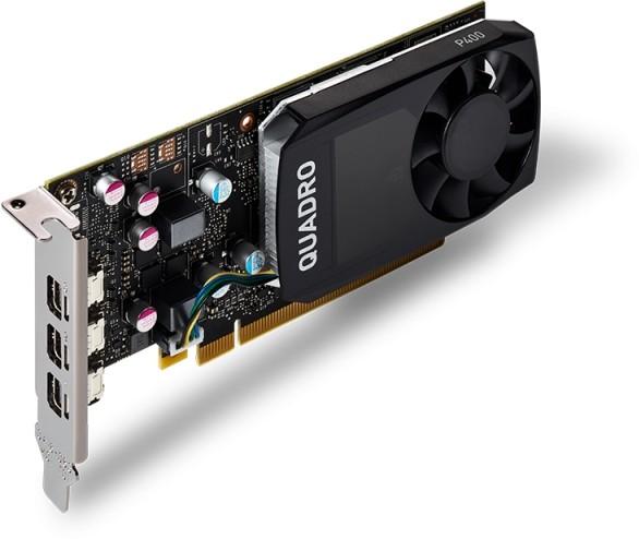 PNY Quadro P400 2GB 3x mDP to DVI-D - zdjęcie główne