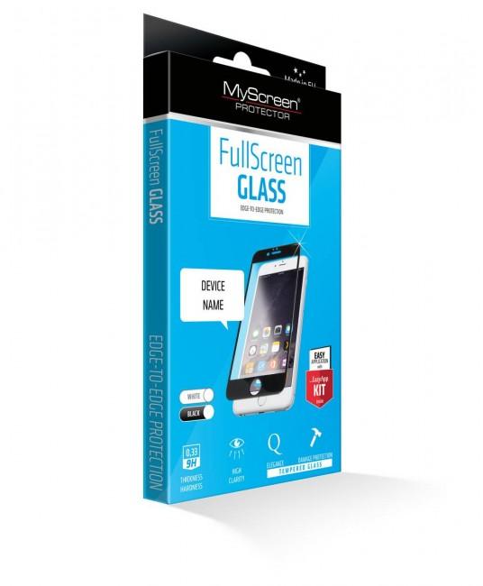 MyScreen Diamond Glass Edge 3D iPhone X czarny - zdjęcie główne