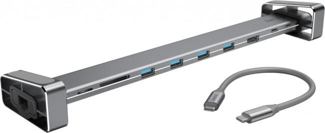 Hama stacja dokująca 9w1 USB-C - zdjęcie główne