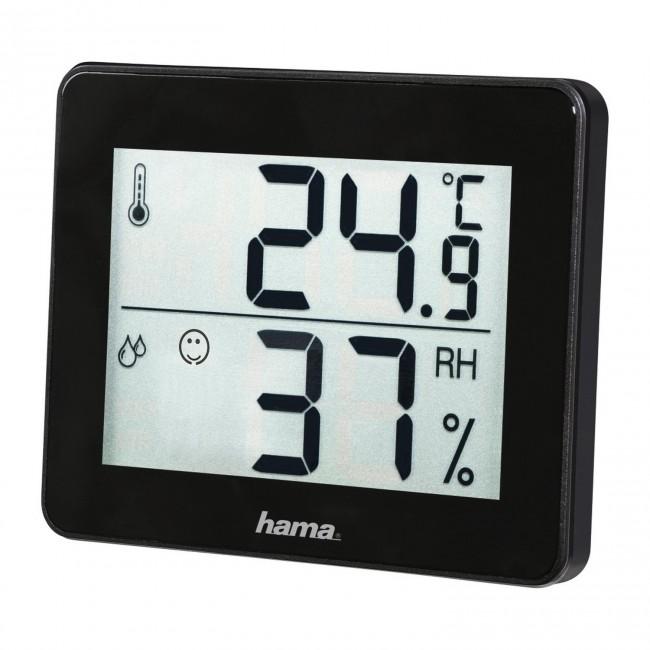 Hama termometr/higrometr TH-130 czarny - zdjęcie główne