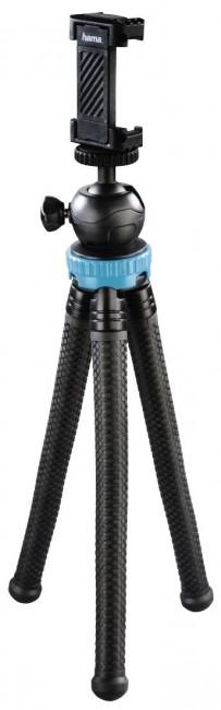 Hama mini statyw Flex Pro 3w1 27 cm niebieski - zdjęcie główne
