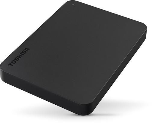 Toshiba Canvio Basics 1TB czarny - zdjęcie główne