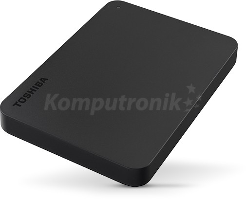 Toshiba Canvio Basics 2TB czarny - zdjęcie główne