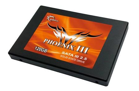 "G.SKILL Phoenix III SSD 2,5"" 120GB 550/510 MB/s 60k IOPs 7mm - zdjęcie główne"