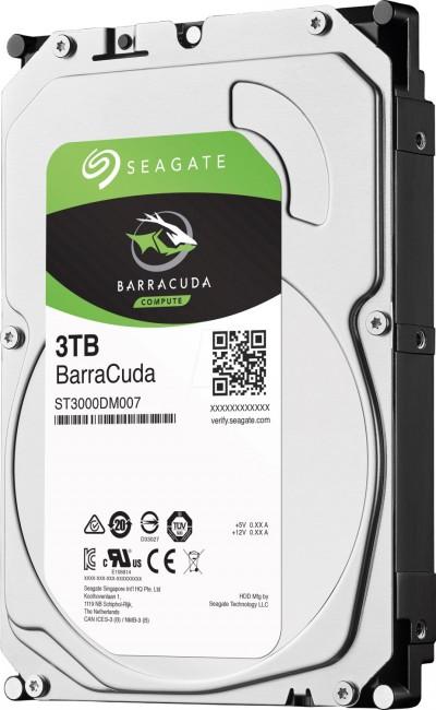Seagate BarraCuda 3TB - zdjęcie główne