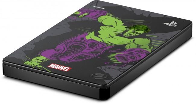 Seagate Game Drive Marvel Avengers Hulk 2TB do PS4 - zdjęcie główne