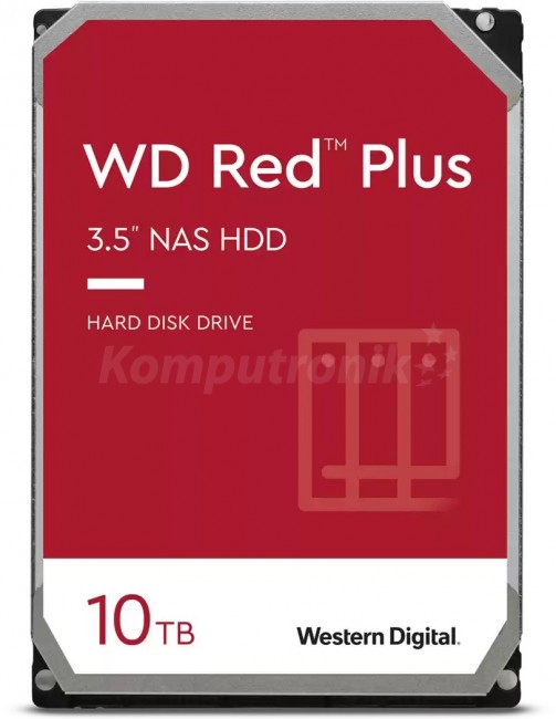 WD Red Plus 10TB - zdjęcie główne