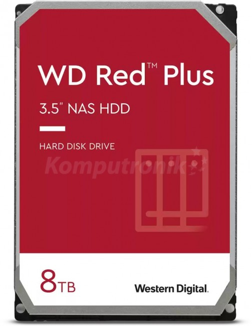 WD Red Plus 8TB - zdjęcie główne