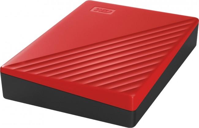 WD My Passport 4TB czerwony - zdjęcie główne