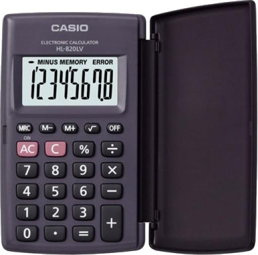 Casio HL-820LV-S BK BOX - zdjęcie główne