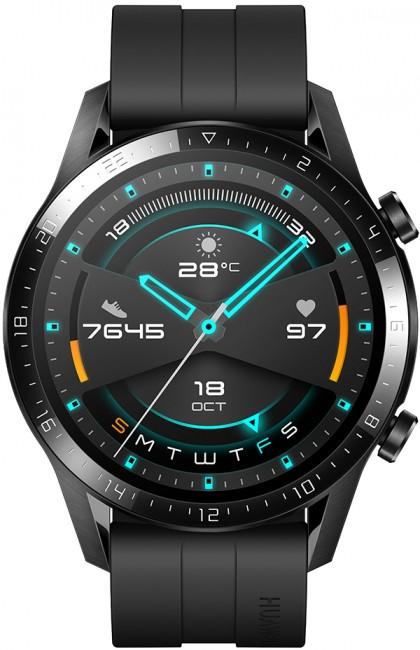 Huawei Watch GT 2 46mm Sport czarny - zdjęcie główne