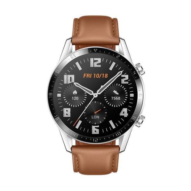 Huawei Watch GT 2 46mm Classic srebrny - zdjęcie główne