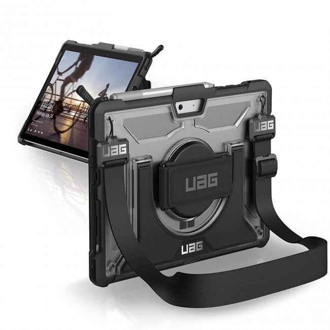 UAG Plasma-obudowa ochronna z wbudowaną podstawką oraz paskiem na dłoń i ramię do Surface Go - zdjęcie główne