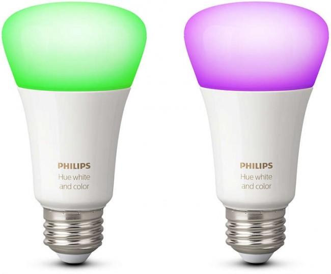 Philips Hue E27 10W RGBW 2-pak - zdjęcie główne