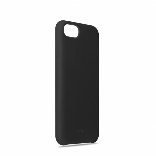 Puro Icon Cover do iPhone SE 2020/8/7/6s/6 czarny - zdjęcie główne