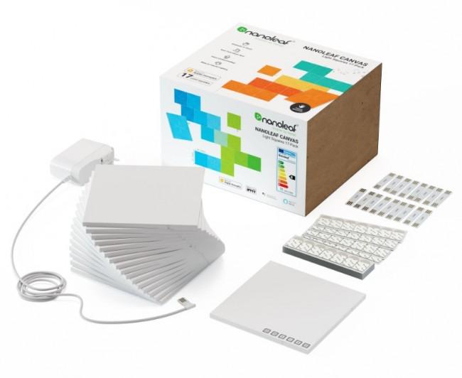 Nanoleaf Canvas Starter Kit 17 kwadraty - zdjęcie główne