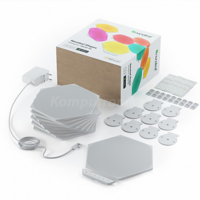Nanoleaf Hexagons Starter Kit 15 - zdjęcie główne