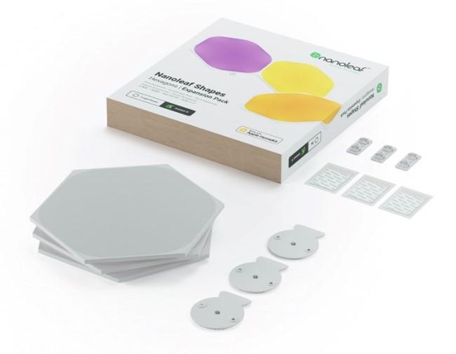Nanoleaf Hexagons Expansion Pack 3 - zdjęcie główne
