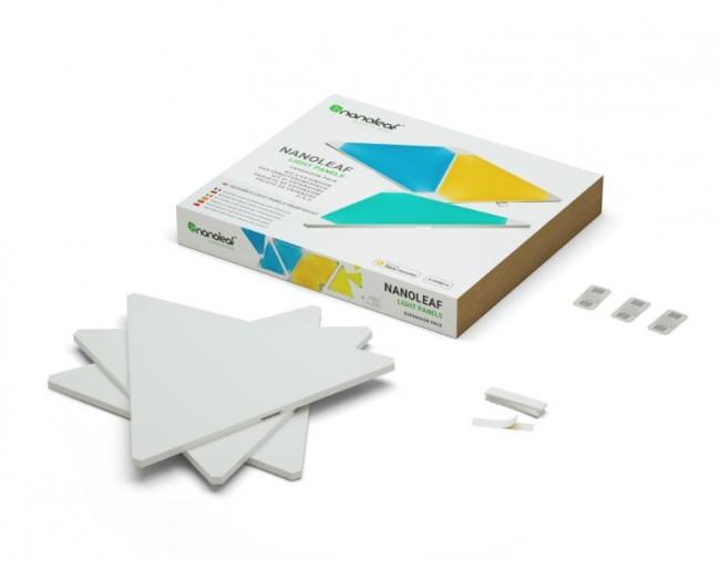 Nanoleaf Light Panels Expansion Pack 3 trójkąty - zdjęcie główne