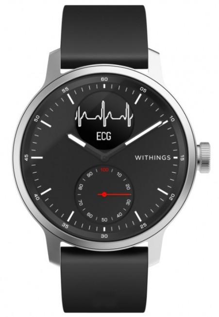 Withings Scanwatch 42mm czarny - zdjęcie główne