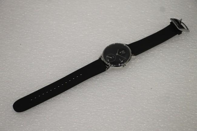Withings Activité Steel HR (36mm) - czarny [oferta Outlet] - zdjęcie główne