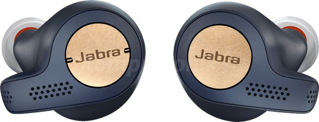 Jabra Stereo Bluetooth Elite 65t Active Miedziano-Niebieskie - zdjęcie główne