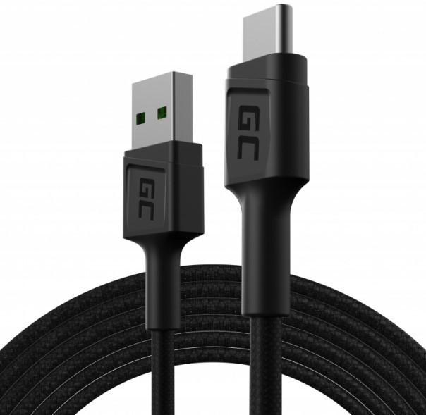 Green Cell USB-A - USB-C Ultra Charge QC 3.0 2.0m - zdjęcie główne