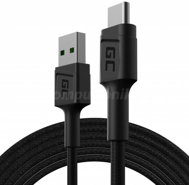Green Cell USB-A - USB-C QC 3.0 1.2m - zdjęcie główne