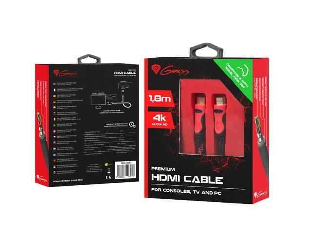 Genesis HDMI Premium 1.8m - zdjęcie główne