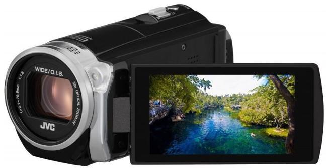 JVC GZ-EX510 czarna - zdjęcie główne