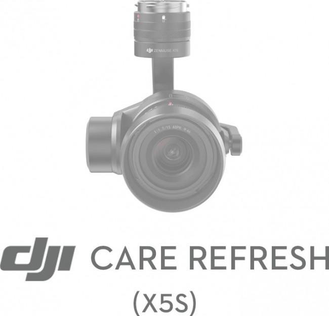 DJI Care Refresh Card Zenmuse X5S (12 miesięczna ochrona serwisowa) - zdjęcie główne