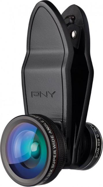 PNY Lens Kit 4 in1 zestaw obiektywów do smartfona - zdjęcie główne