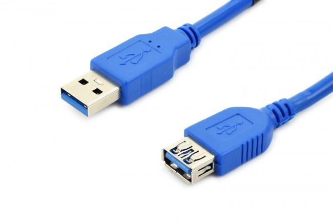 Accura Premium USB 3.0 1.8m niebieski - zdjęcie główne