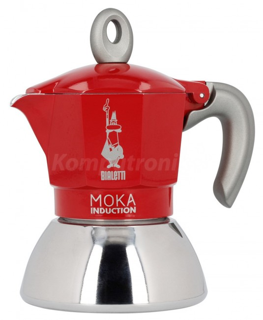 Bialetti Moka Induction 2TZ (100ml) Czerwona 2020 - zdjęcie główne