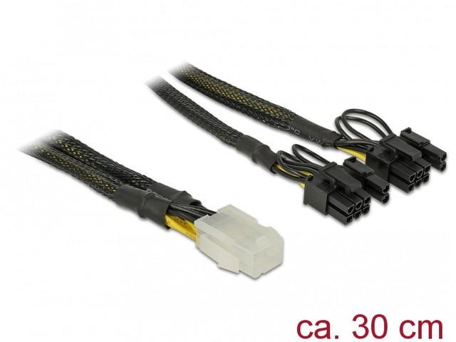 Delock 6pin - 2x 8/6 pin oplot - zdjęcie główne