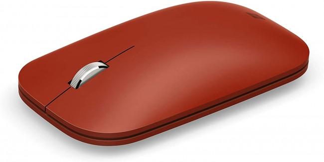 Microsoft Surface Mobile Mouse Poppy Red - zdjęcie główne