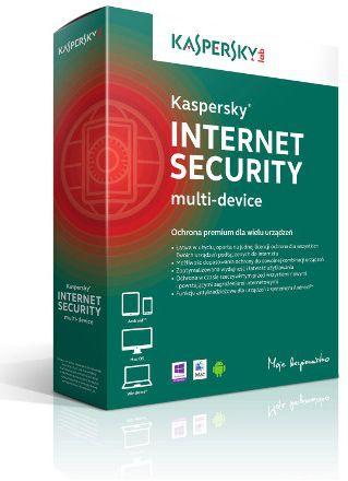 Kaspersky Internet Security multi-device 1 - Desktop - kontynuacja na rok - zdjęcie główne