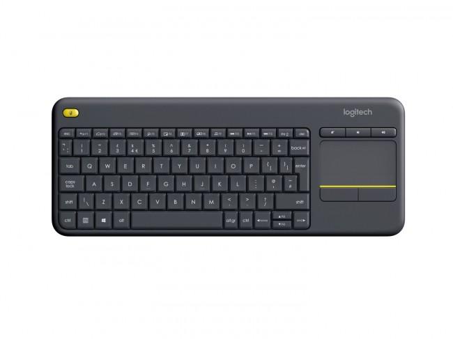 Logitech K400 Plus Czarna - zdjęcie główne