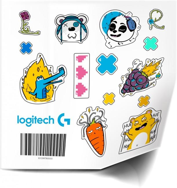 Logitech G Naklejki Promo - zdjęcie główne