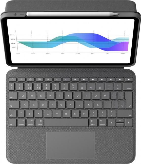 Logitech Folio Touch for iPad Pro 11-inch Szary - zdjęcie główne