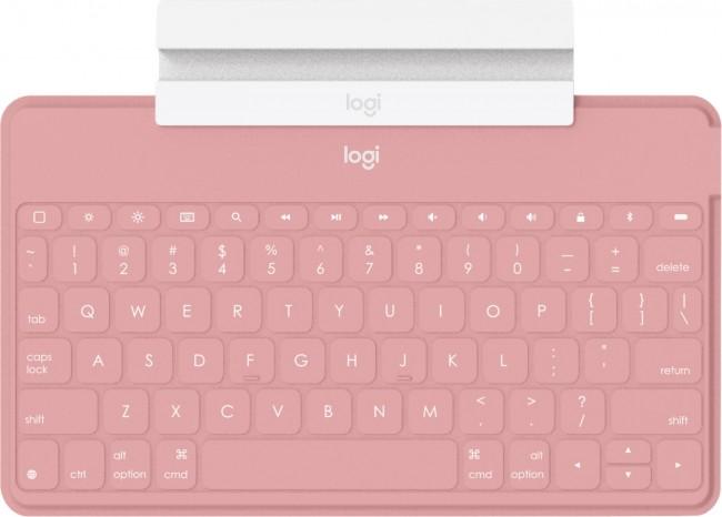 Logitech Keys To Go Różowy - zdjęcie główne
