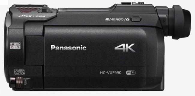 Panasonic HC-VXF990 4K czarna - zdjęcie główne
