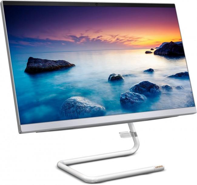 Lenovo IdeaCentre AIO 3-27IMB (F0EY00HPPB) biały - 512GB M.2 PCIe + 480GB SSD - zdjęcie główne