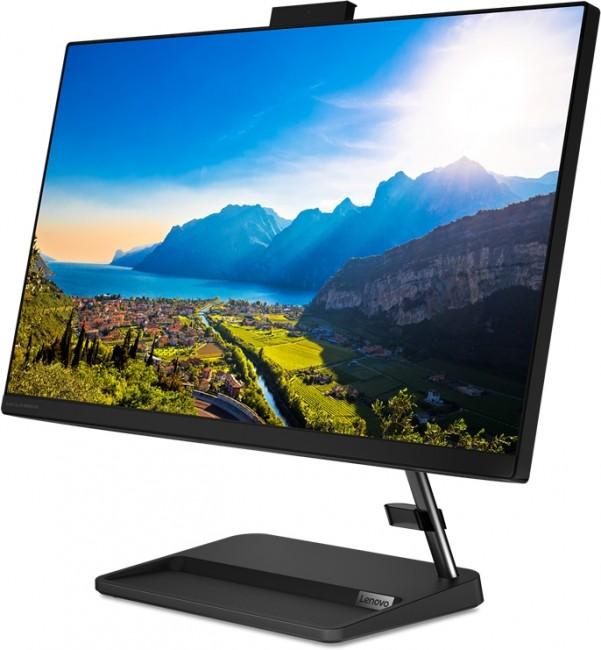 Lenovo IdeaCentre AIO 3-24ITL (F0G0008MPB) czarny - zdjęcie główne