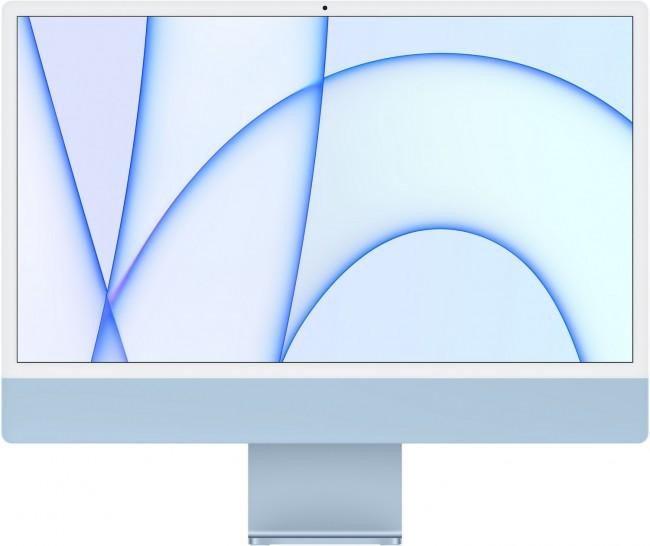 Apple iMac 24'' Retina 4.5K (MGPK3ZE/A/R1/D1) Niebieski - zdjęcie główne