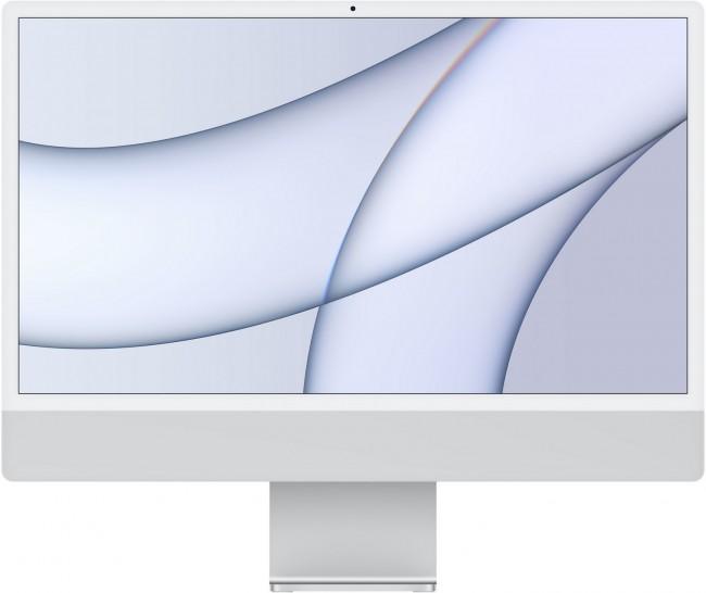 Apple iMac 24'' Retina 4.5K (MGTF3ZE/A/R1) Srebrny - zdjęcie główne