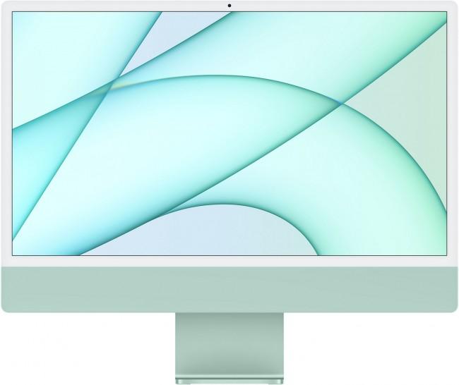Apple iMac 24'' Retina 4.5K (MJV83ZE/A/R1/D1) Zielony - zdjęcie główne
