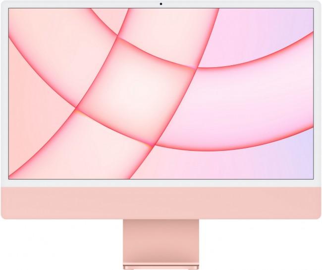Apple iMac 24'' Retina 4.5K (MJVA3ZE/A/R1/D1) Różowy - zdjęcie główne