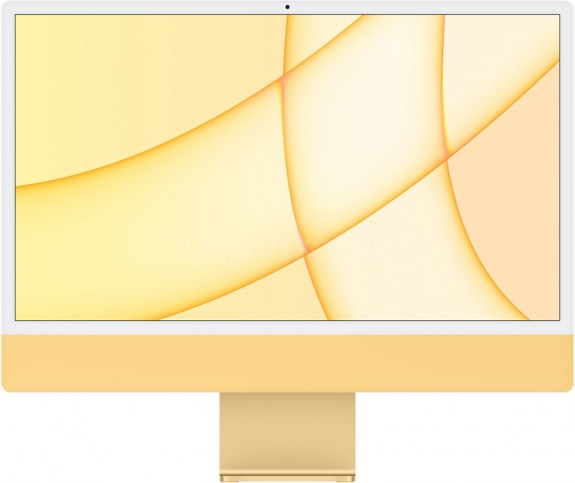 Apple iMac 24'' Retina 4.5K (Z12S) Żółty - zdjęcie główne
